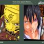 naruto and sasuke draw that again meme by GunRaider