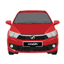 Perodua Bezza - Lava Red by Tarenlee