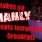 Snake eats terrorists!