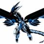 blue eyes darkz dragon by Holybuster