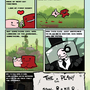 Super Meat Boy comic (p1) by Bluebaby