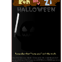 Pon and Zi Hallowen Poster by erafia