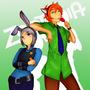 Judy and Nick by Yoenn