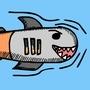 Shark-pedo by SamHP