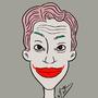 My joker inspired piece by tredaycartoons