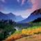 Evening Mountains