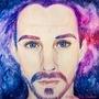 Galaxy man by amandadarko