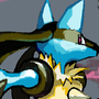 lucario by Jufin