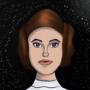 Princess Leia by RossMoonpig