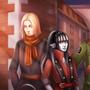 Da walking squad by StarksNotDead