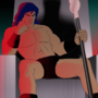 "King Silex from ""Silex the Barbarian"" by Tumblenerd"