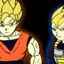 Hey look its Goku and Vegeta by JasonKyo12