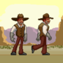 Western Pixel artwork