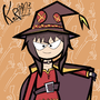 Megumin from Konosuba by MrTodswire
