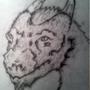 Dragon Head by The-Last-Templar