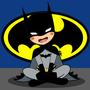 Cute Batman by ChibiAshley