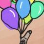 Balloon Girl by BrandyBuizel