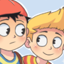 Lucas and Ness by ErnieTheMighty