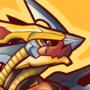 Dwaggy wanna cwacker! [Colored] by megawolf77