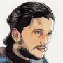 Jon Snow by Zalfurius