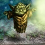 Yoda using the Force to Float by BlackArro3
