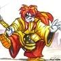 Kyoshiro Samurai Shodown Fan Art by BlackArro3