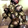 Super Mutant Fallout Fan Art by BlackArro3