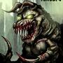 Death Claw 1 Fallout Fan Art by BlackArro3
