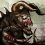 Death Claw 2 Fallout Fan Art by BlackArro3