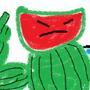 Watermelon-man by CaptainFifi