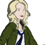 Evana Lynch as The Doctor by Sorrowfist