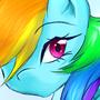 RainbowDash by KaDargoDaFluffy