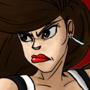 Tifa Lockhart Kick by Cloud69225
