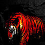 Pixel Tiger by OliverBengtsson