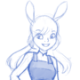 Judy Hopps - Sketch by ForeverMuffin