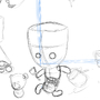 The most epic R.T. Party WIP1 by Arviyu