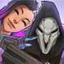 Sombra & Reaper by AkiCarlito