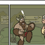Vikings of the Interstate Comic #002 by FleckoGold