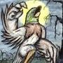 Howling Duck by DETHSKULPT