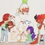Dnd epic arty party by mayfirerose