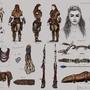 "Fan Art - ""Aloy"" Horizon New Dawn (Character Design Study) ""Part 2"""