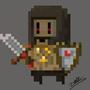 PixelArt videogame enemy by LolliPooh