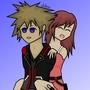 Sora & Kairi by Ani-Mus