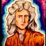 Isaac Newton by BeKoe