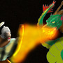 Battle vs the Dragon of the Darkness by shmitty6491