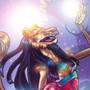 Sekhmet Star by BlackUniGryphon