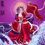 Mazhu Tames The Waves by BlackUniGryphon