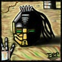 Cyrax in sand by TheChessPlayer