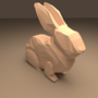 Low Poly Bunny by Meaplord