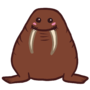 Cute walrus by Goldsaw